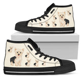 Cartoon Yorkshire Terrier Shoes