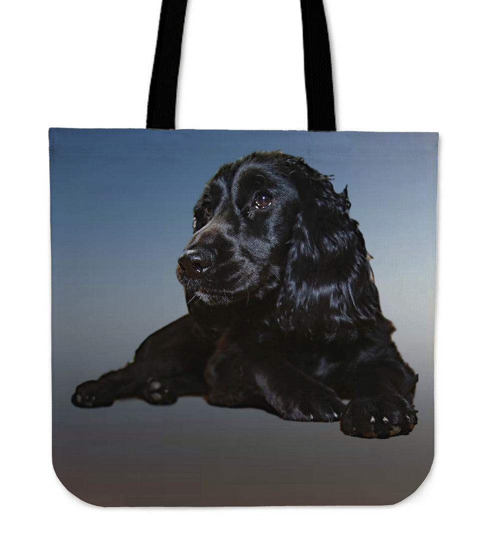 Cocker Spaniel Cotton Tote Bag