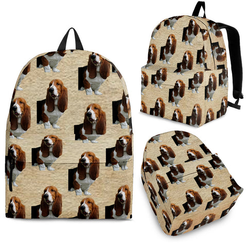 Bassett Hound Backpack
