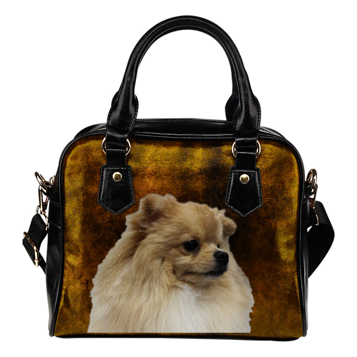 Pomeranian Shoulder Bag