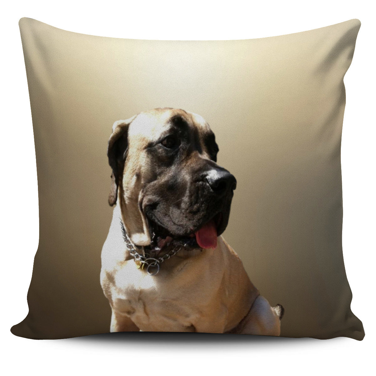 Mastiff Pillow Cover