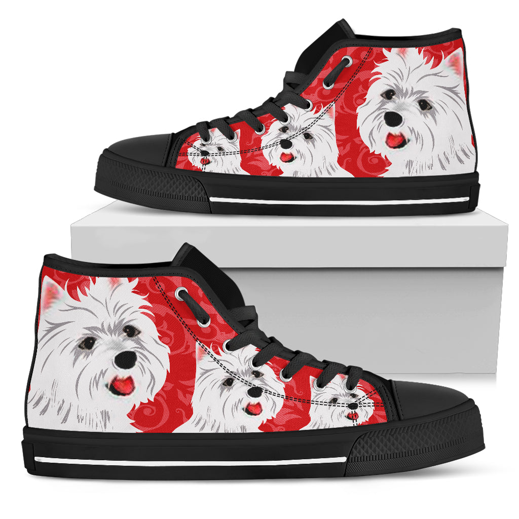 Westie Women's High Tops