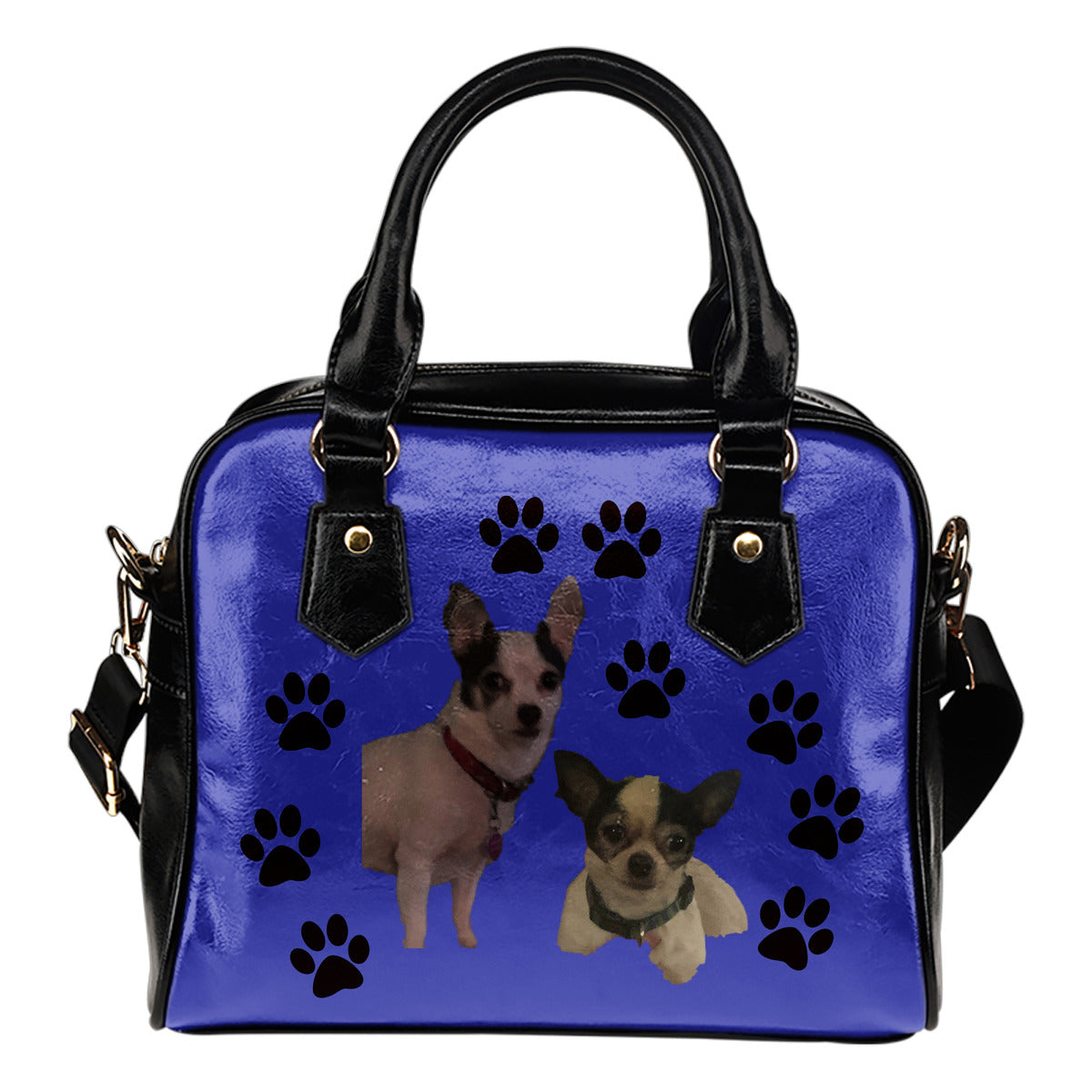 Chihuahua Shoulder Bag - Paw Print