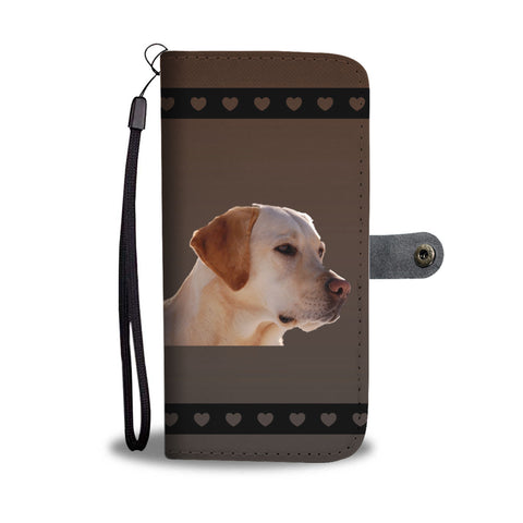 Yellow Lab Phone Case Wallet