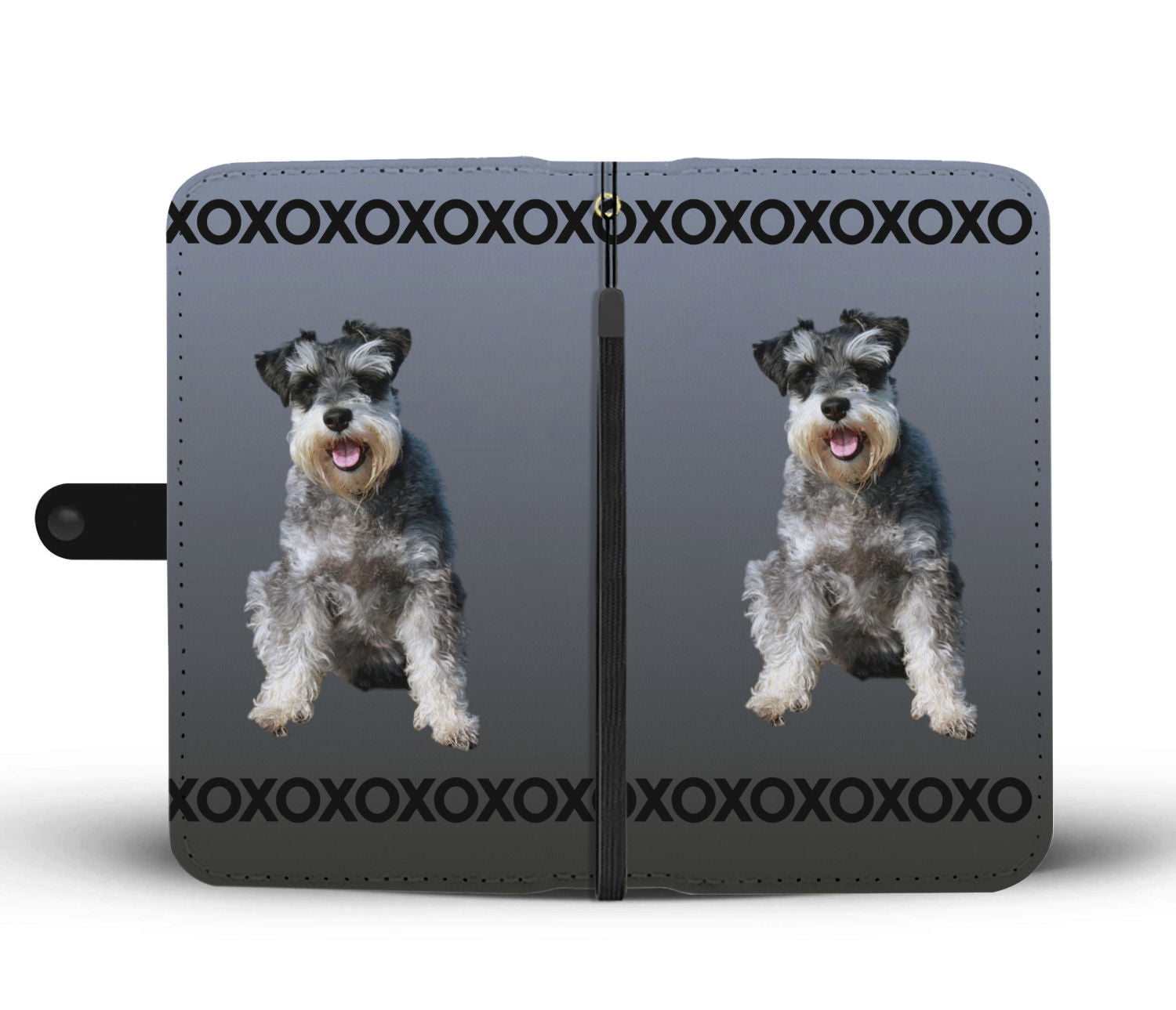 Schnauzer Phone Case Wallet