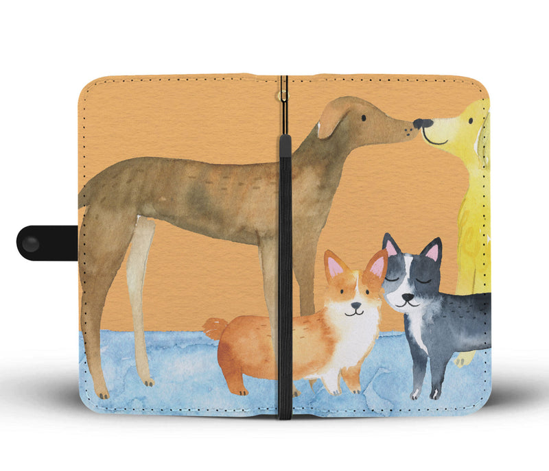 Corgi & Friends Phone Case Wallet
