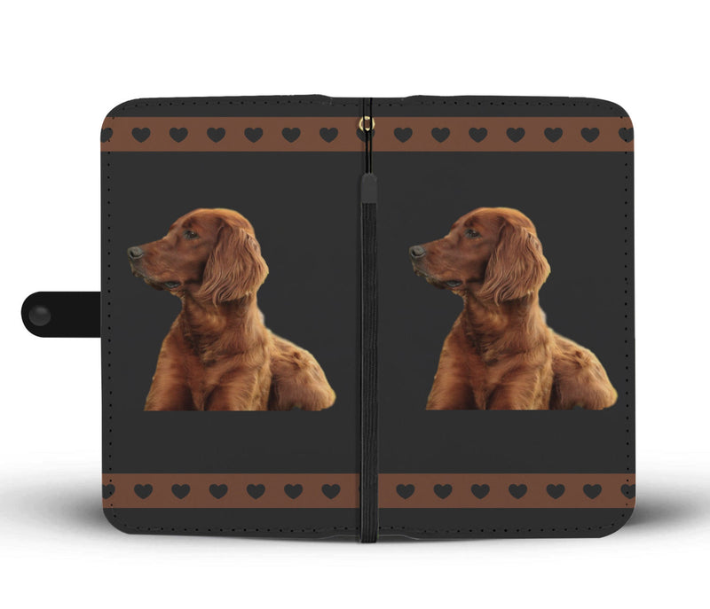 Irish Setter Phone Case Wallet