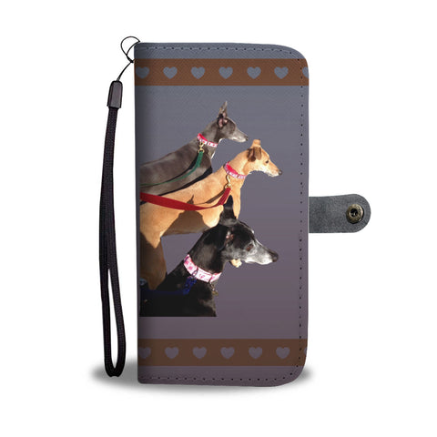 Greyhound Phone Case Wallet - 3