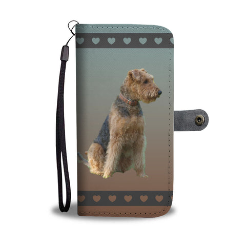 Airedale Terrier Phone Case Wallet