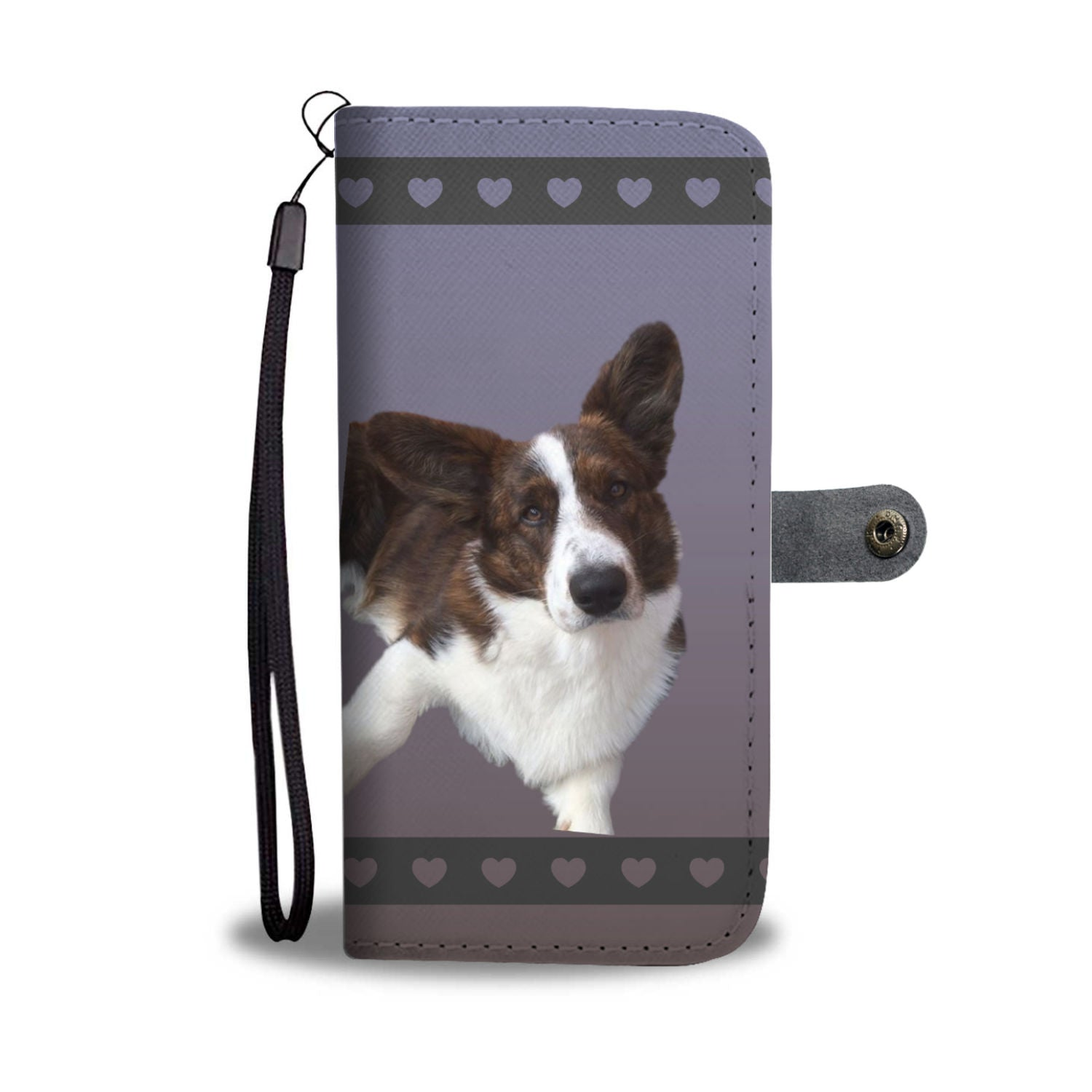 Corgi Phone Case Wallet - Cardigan