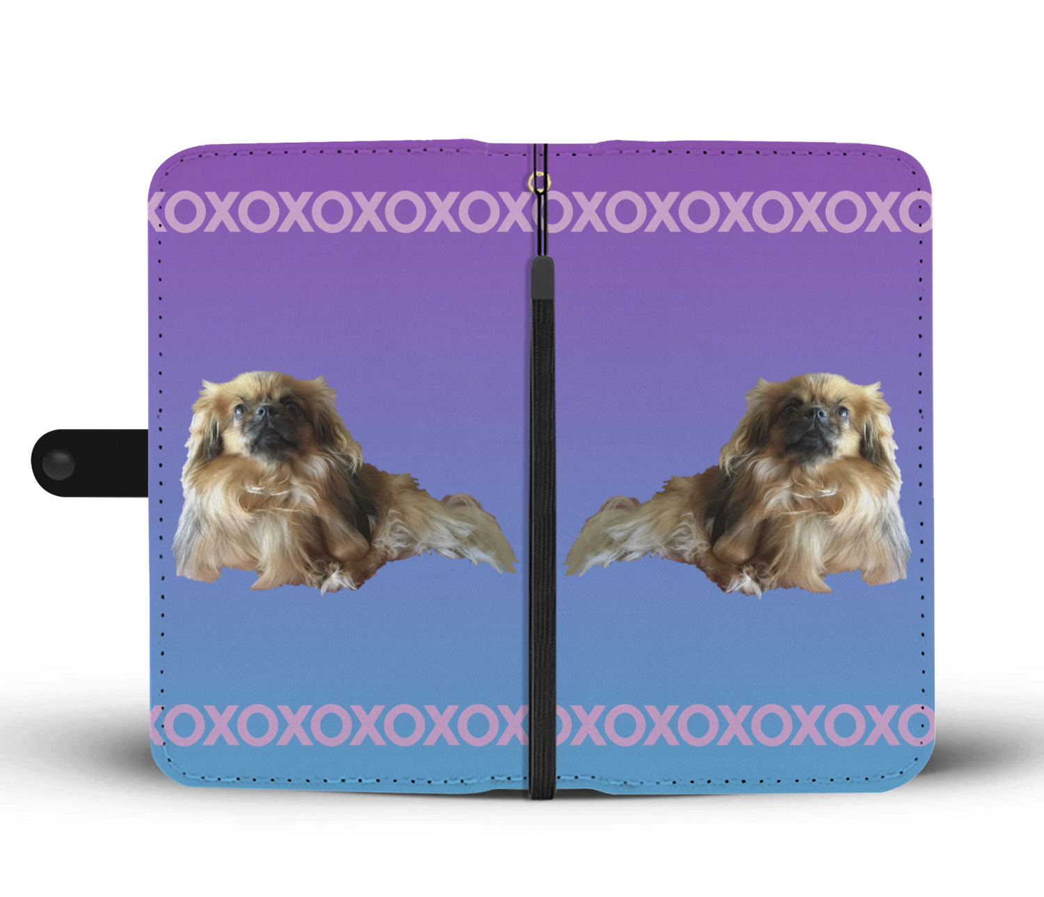 Tibetan Spaniel Phone Case Wallet