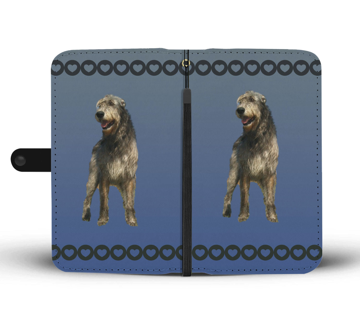 Irish Wolfhound Phone Case Wallet