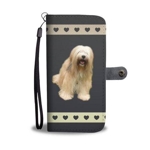 Tibetan Terrier Phone Case Wallet
