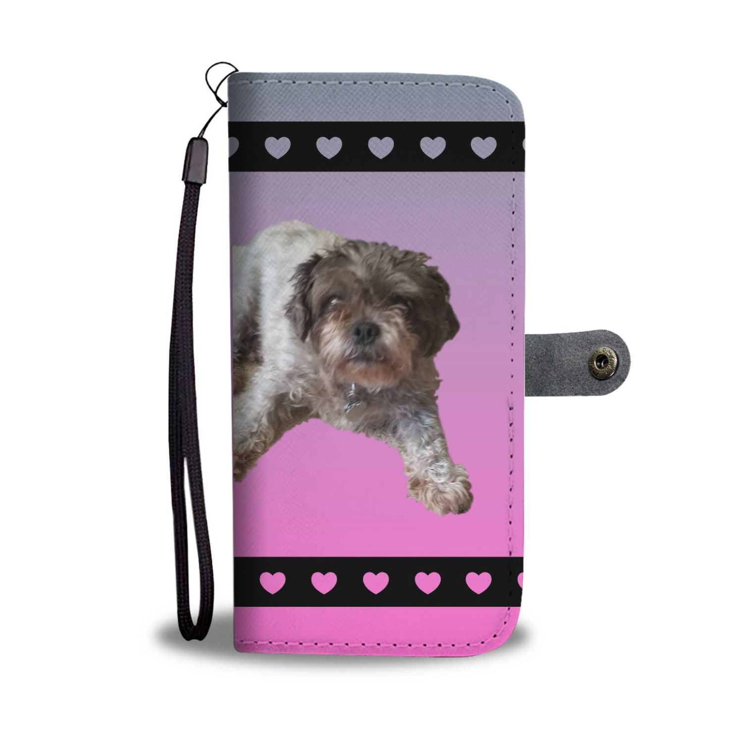 Malti-Pug Phone Case Wallet