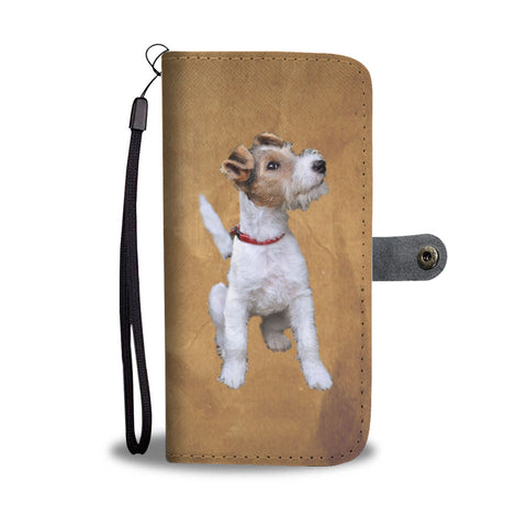 Wire Hair Fox Terrier Phone Case Wallet