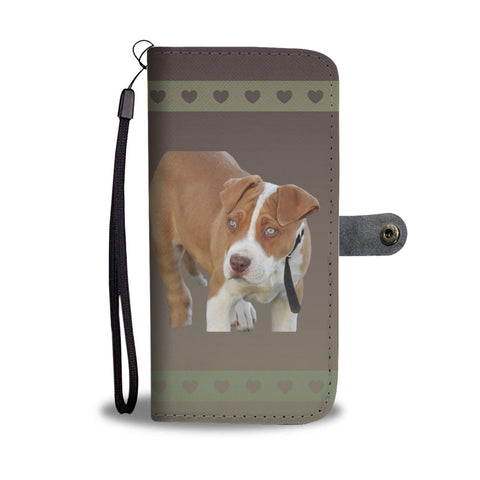 Pit Bull Phone Case Wallet