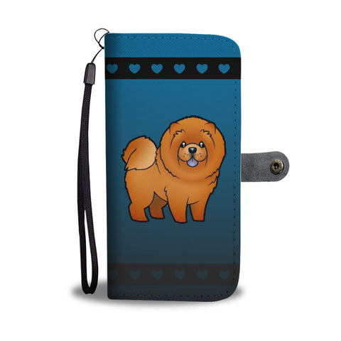 Chow Chow Phone Case Wallet