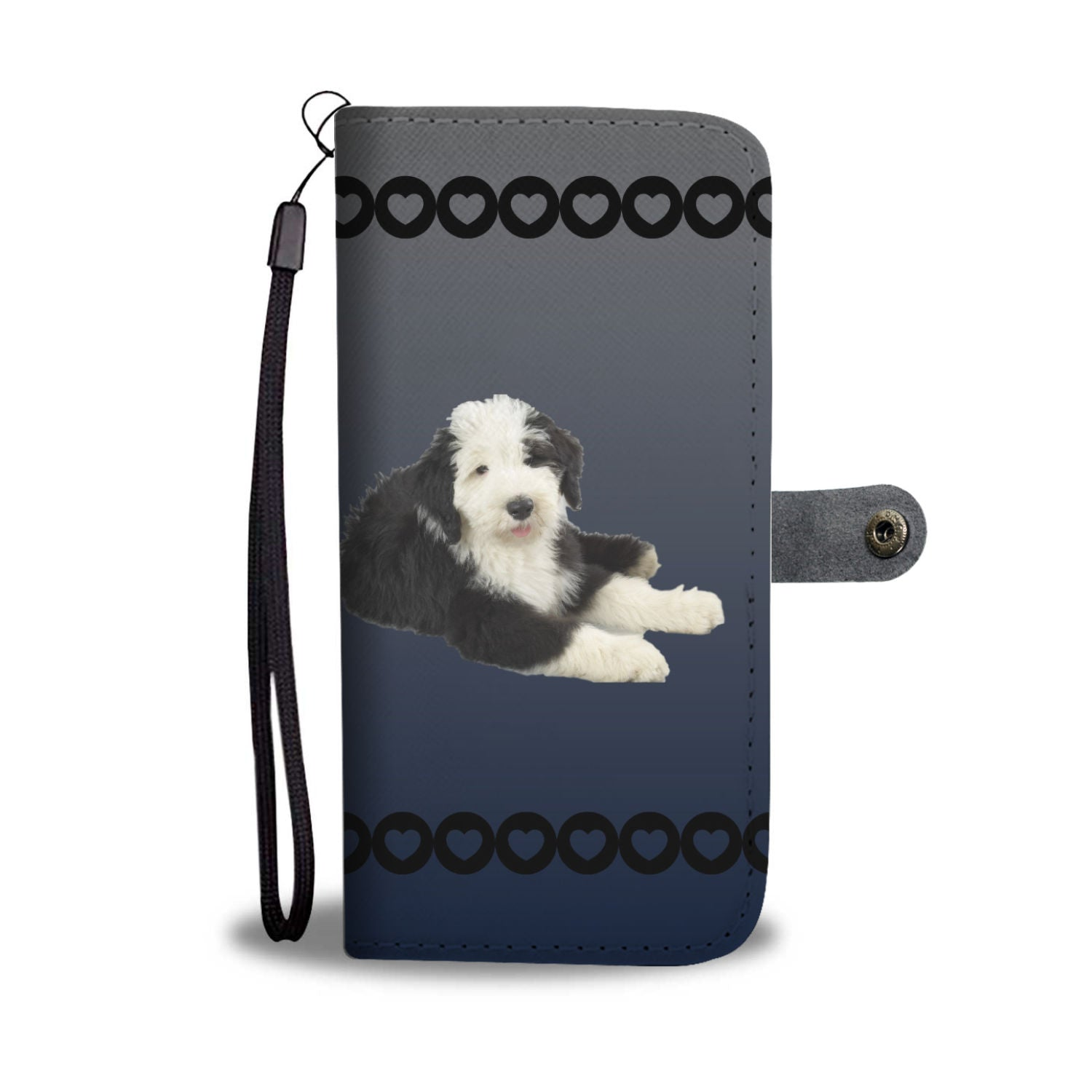 Old English Sheepdog Phone Case Wallet