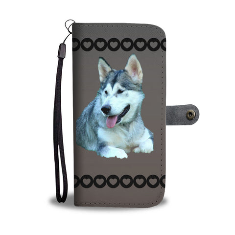 Alaskan Malamute Phone Case Wallet