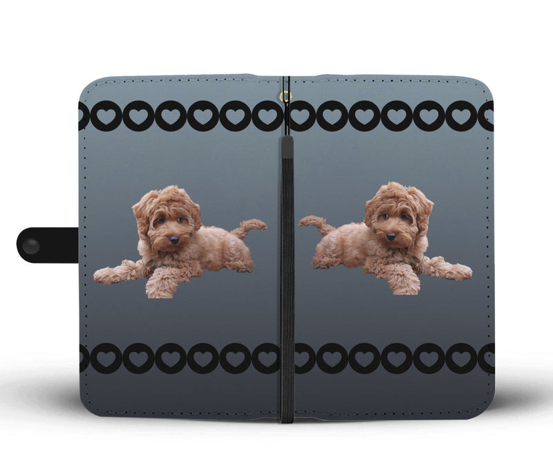 Labradoodle Phone Case Wallet