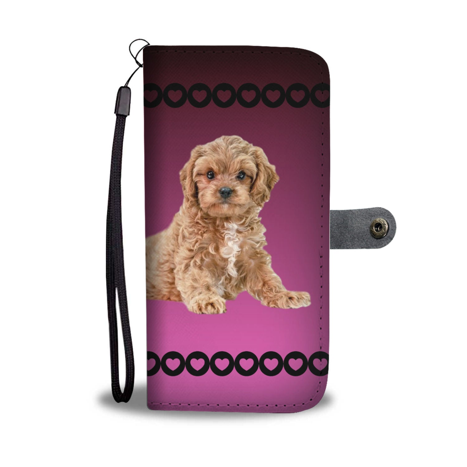 Cavapoo Phone Case Wallet