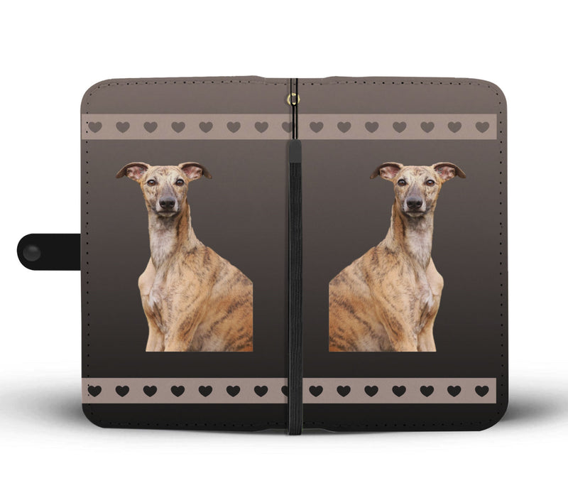 Whippet Phone Case Wallet
