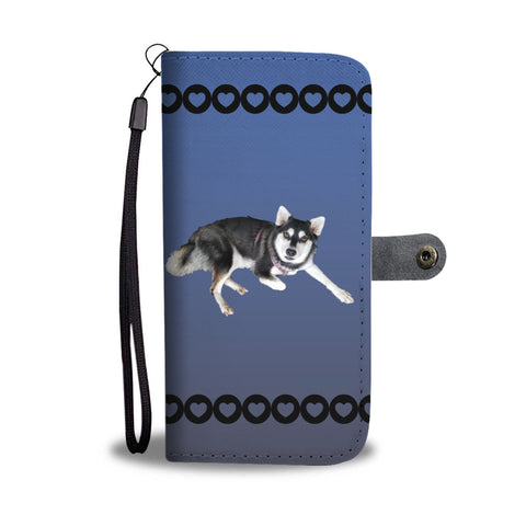 Alaskan Klee Kai Phone Case Wallet