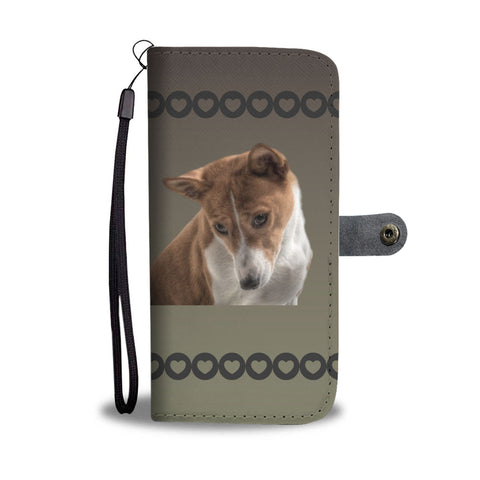 Basenji Phone Case Wallet