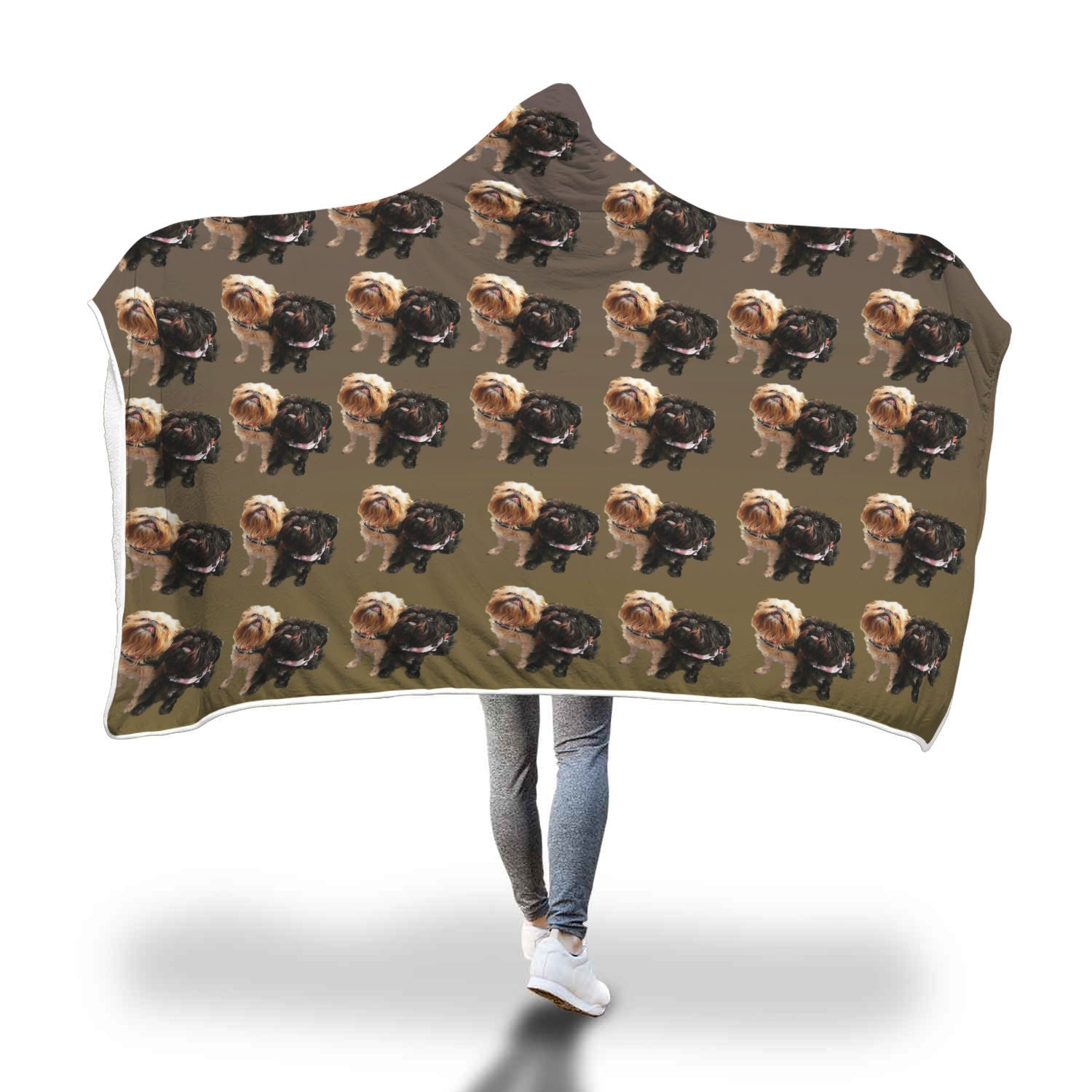Brussels Griffon Hooded Blanket