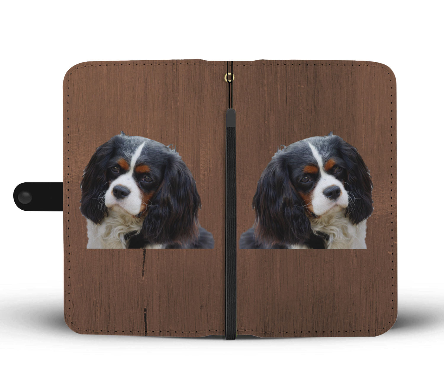 Cavalier King Charles Spaniel Tri Phone Case Wallet
