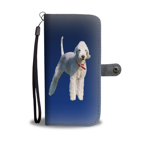 Bedlington Terrier Phone Case Wallet