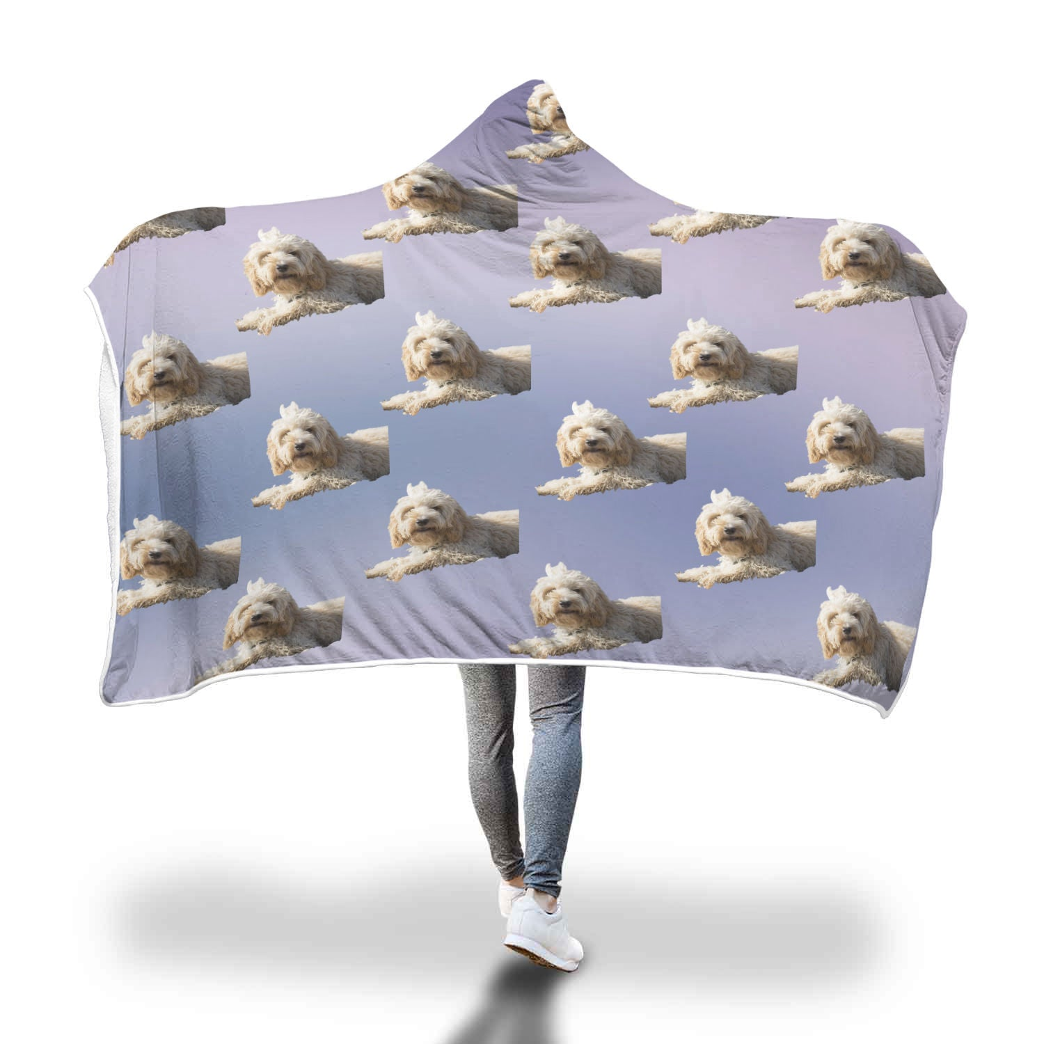 Cockapoo Hooded Blanket
