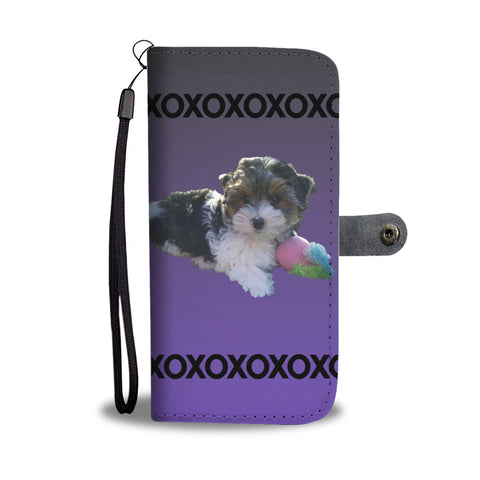 Biewer Terrier Phone Case Wallet