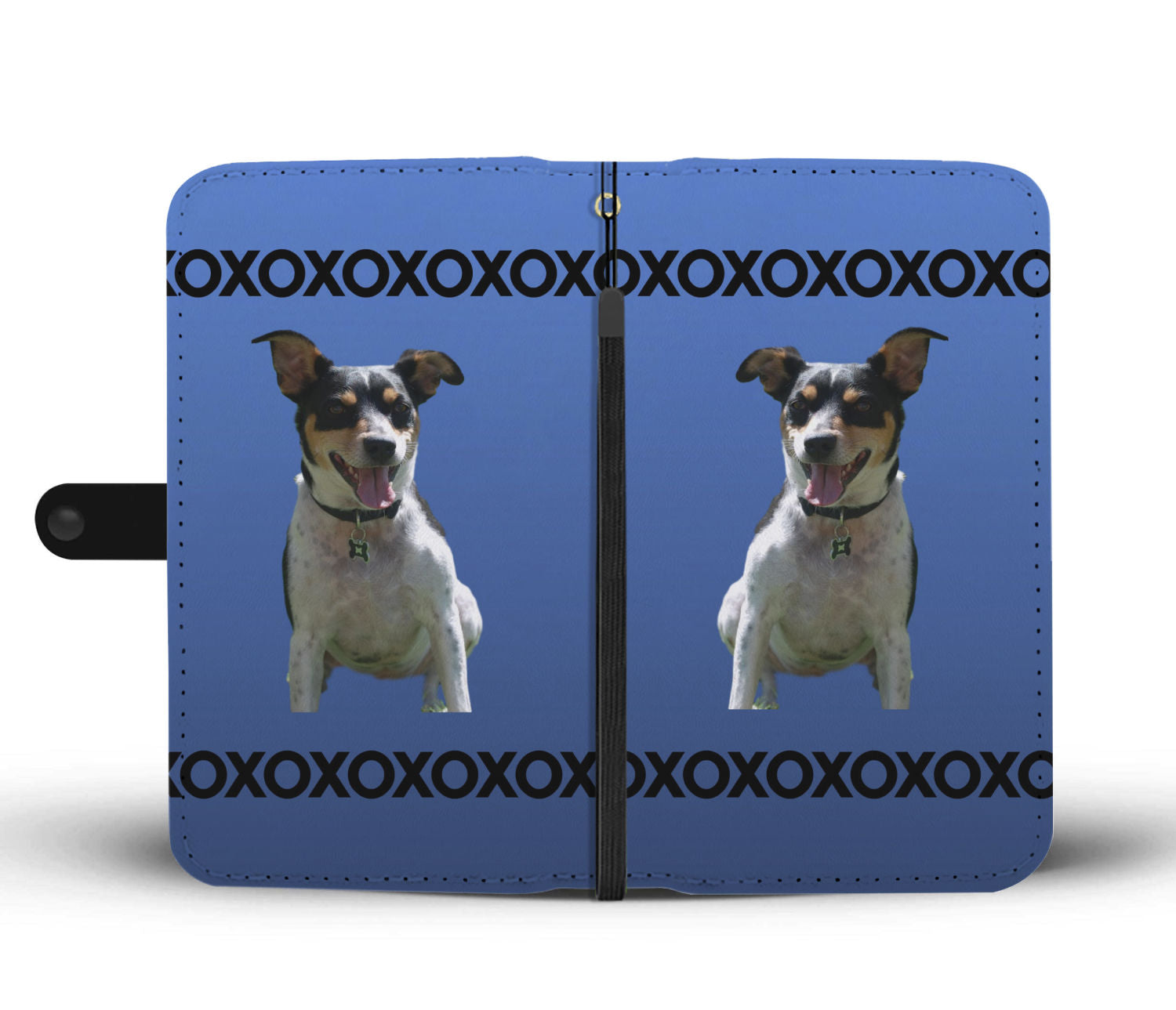 Rat Terrier Phone Case Wallet