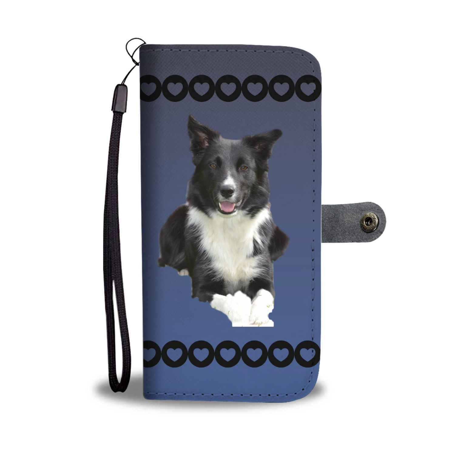 Border Collie Phone Case Wallet 1