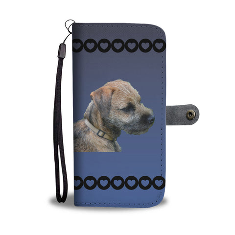 Border Terrier 1 Phone Case Wallet