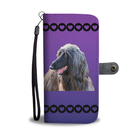 Afghan Hound Phone Case Wallet