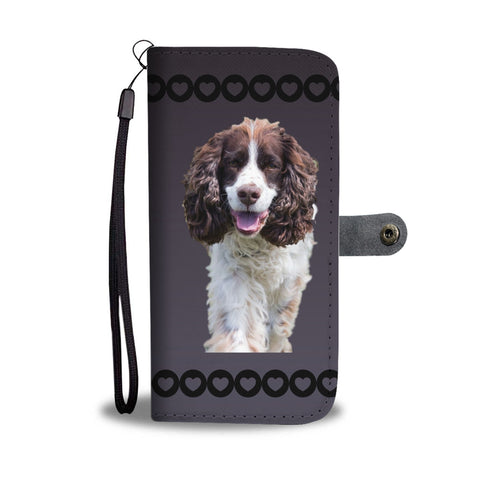 English Springer Spaniel Phone Case Wallet