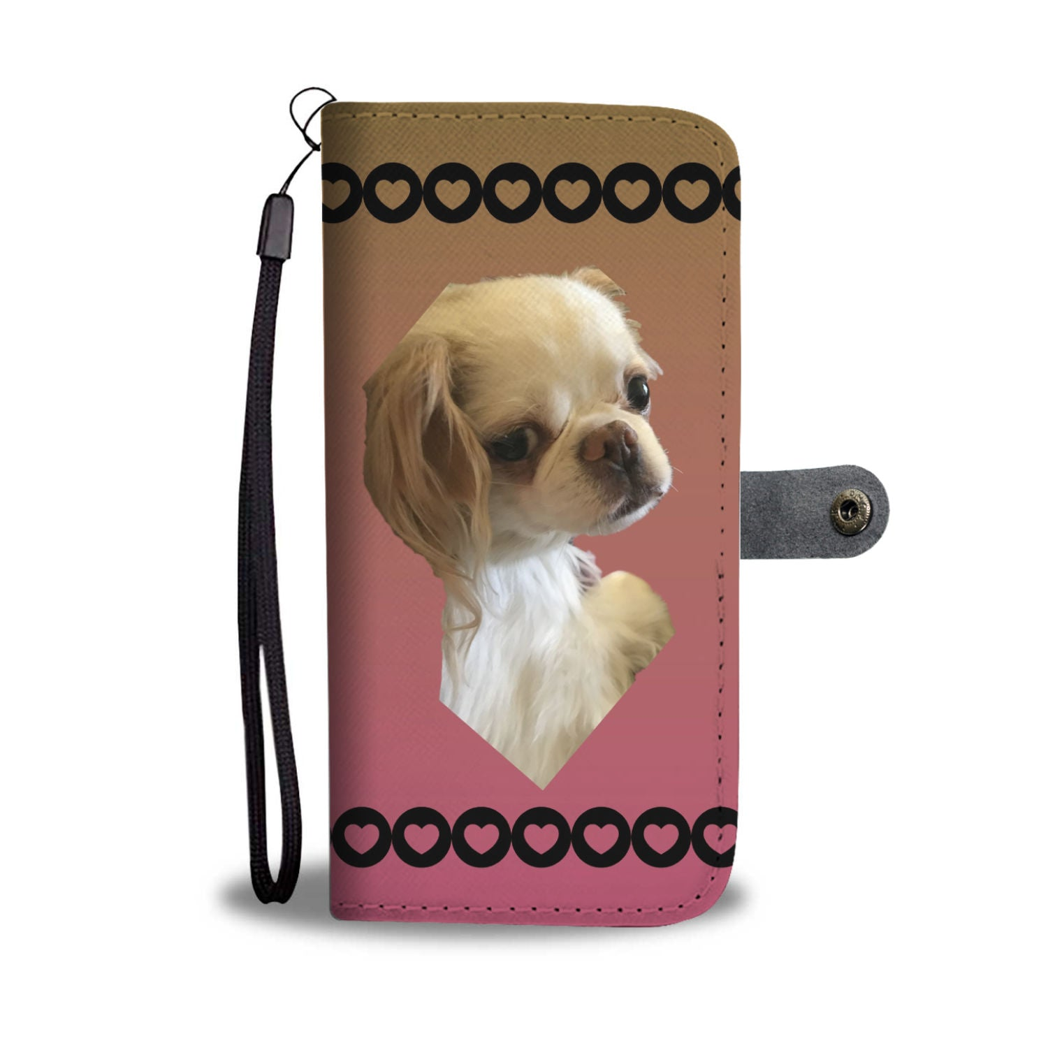 Japanese Chin Phone Case Wallet 2