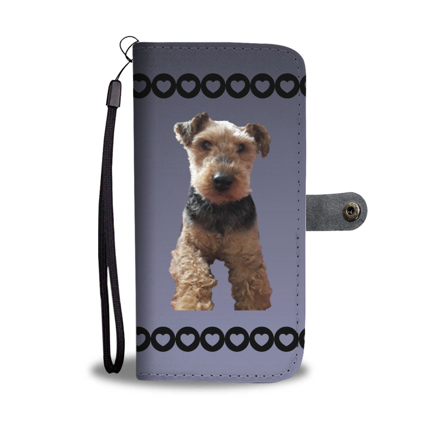 Welsh Terrier Phone Case Wallet