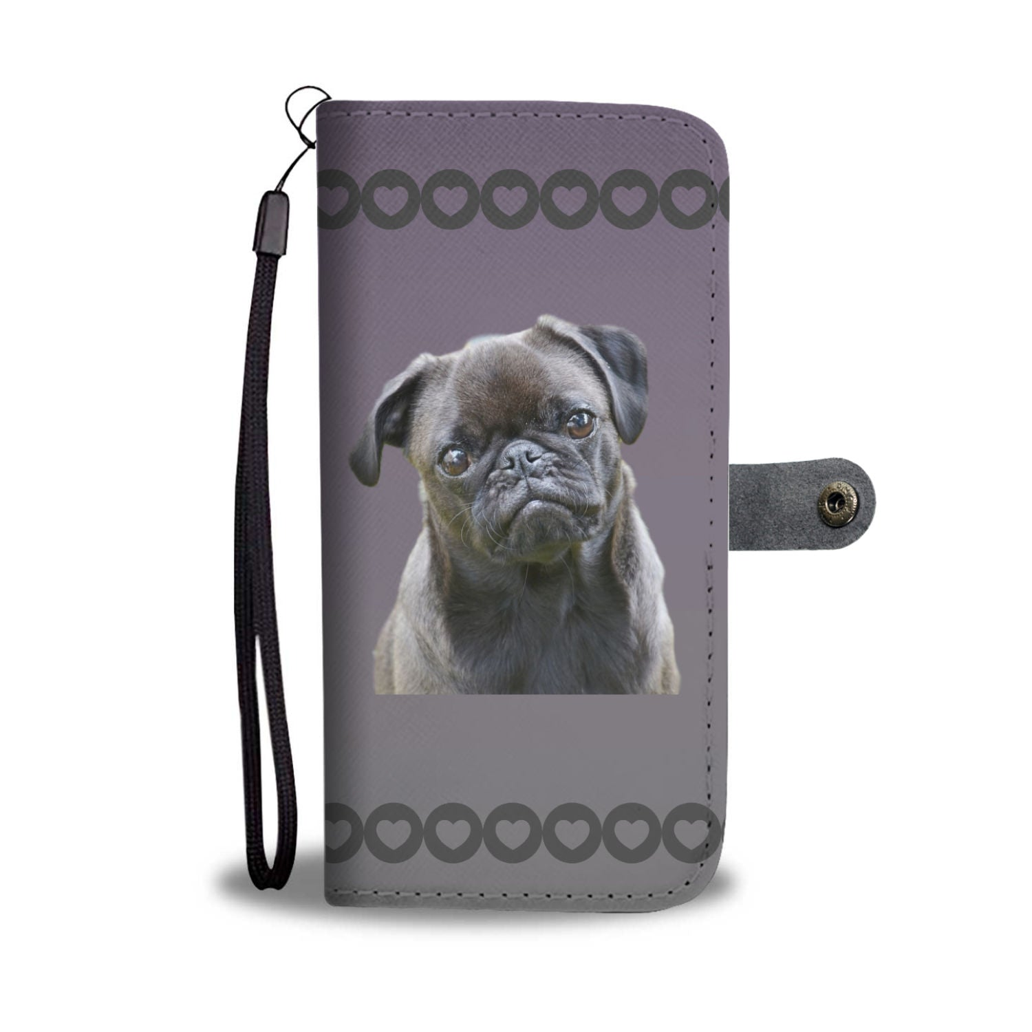 Pug Phone Case Wallets