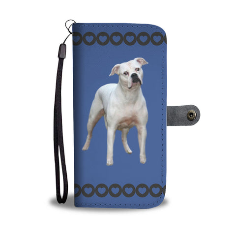 American Bulldog Phone Case Wallet