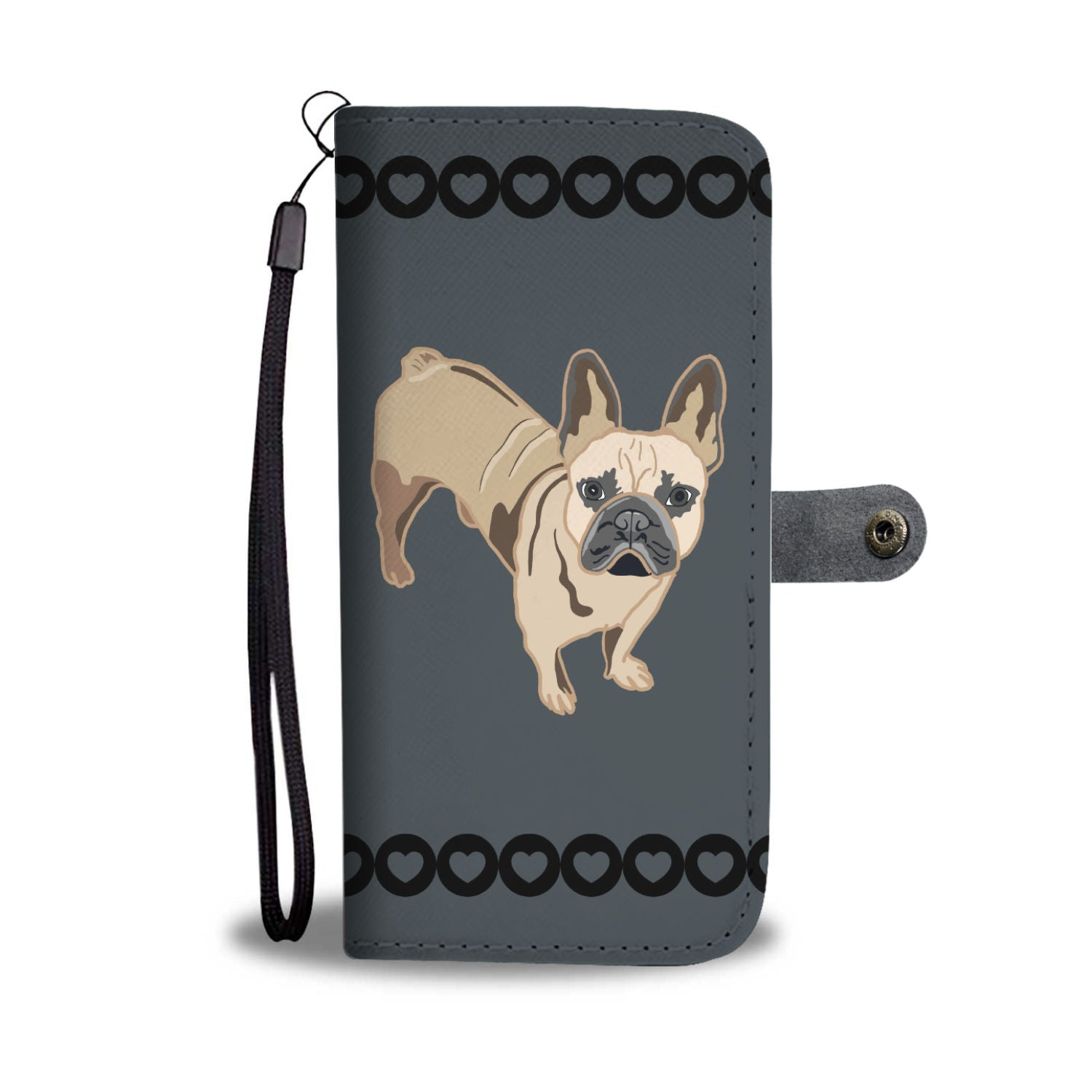 French Bulldog Phone Case Wallet 2