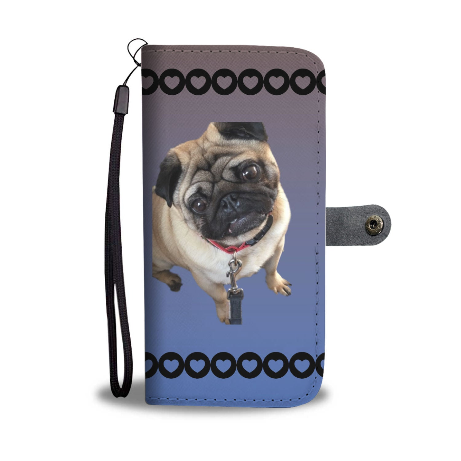 Pug Phone Case Wallet