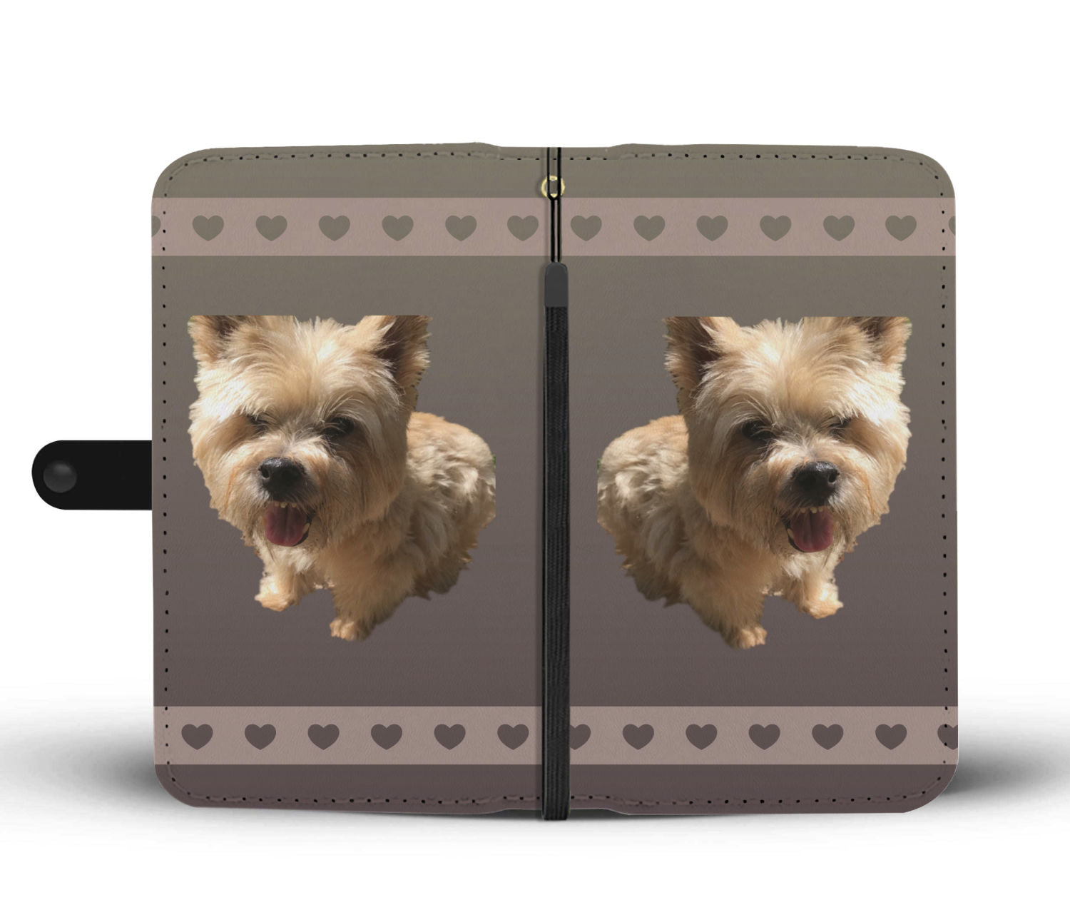 Norwich Terrier Phone Case Wallet