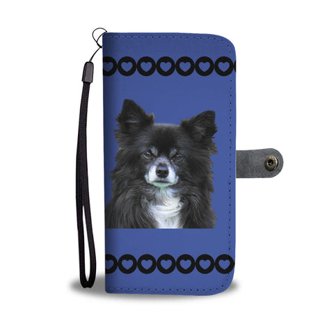 Chihuahua Phone Case Wallet - Blue