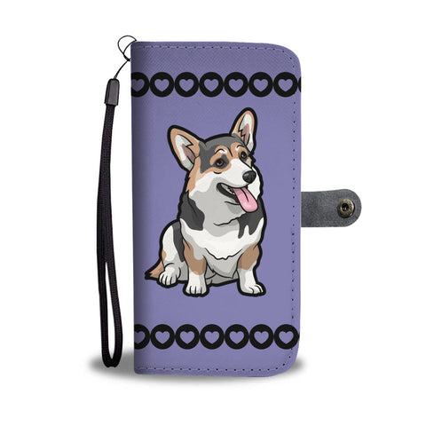 Corgi Phone Case Wallet - Tri