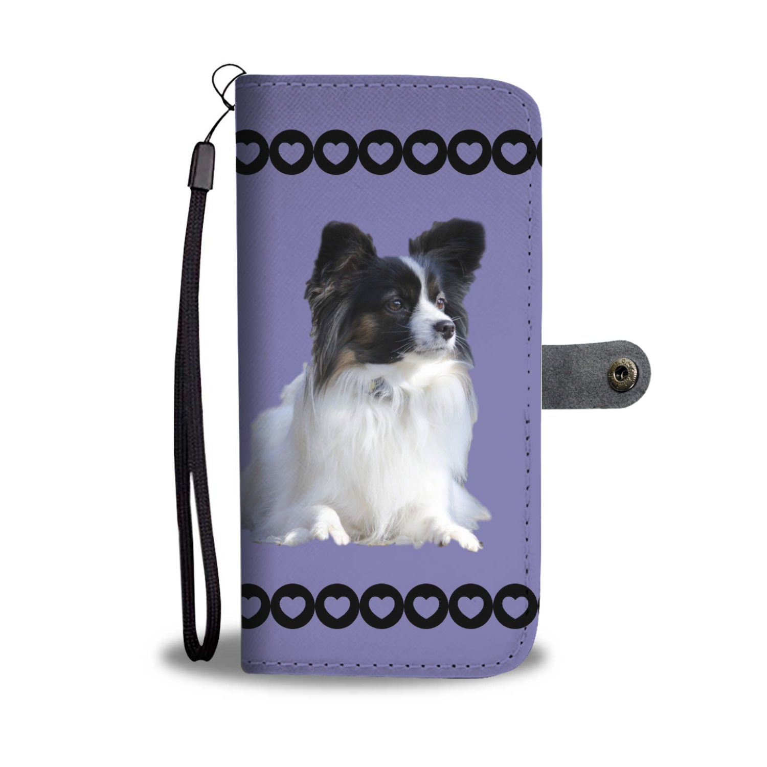 Papillon Phone Case Wallet 2