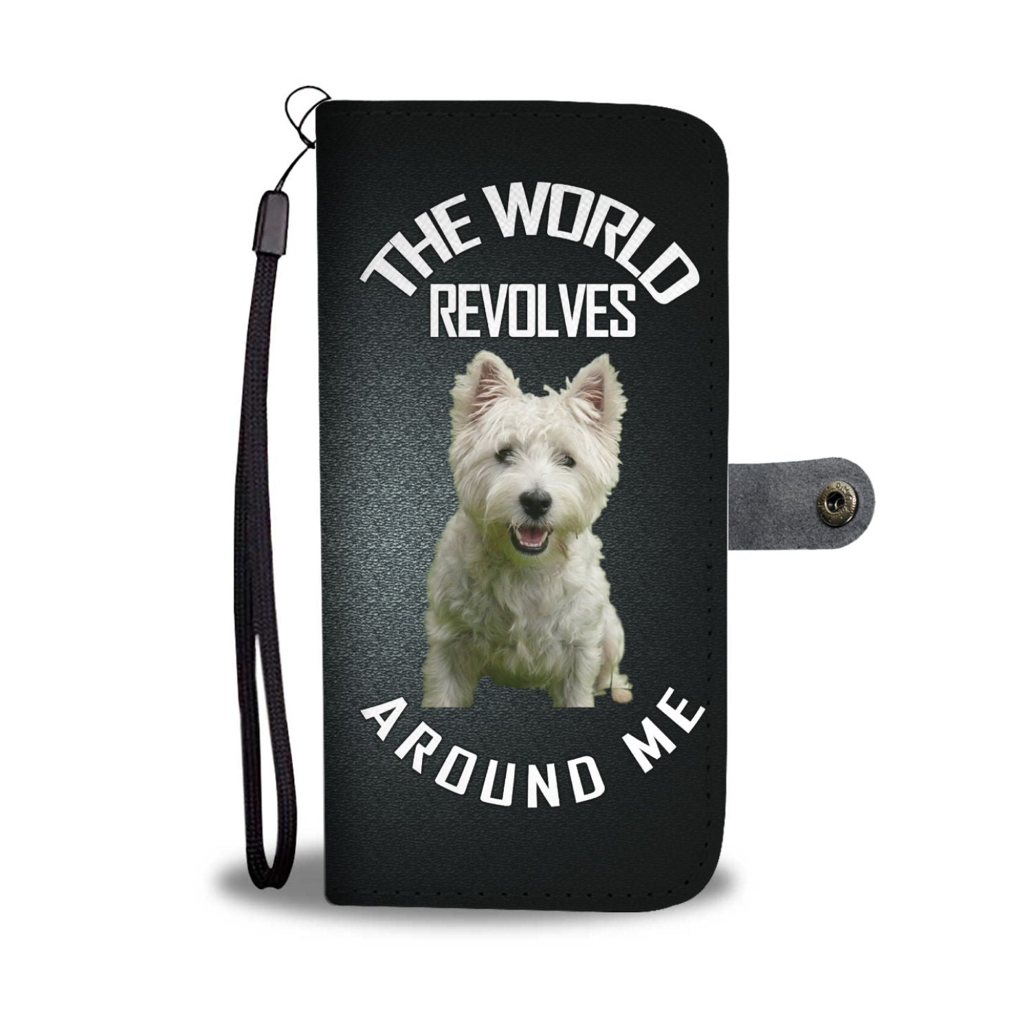 Westie World Phone Case Wallet