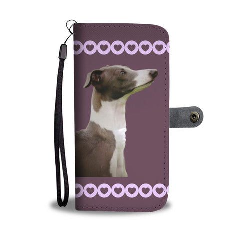 Italian Greyhound Phone Case Wallet